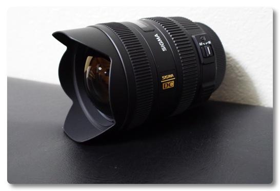 SIGMAの広角ズームレンズ 8-16mm F4.5-5.6 DC HSM を買ってしまいました