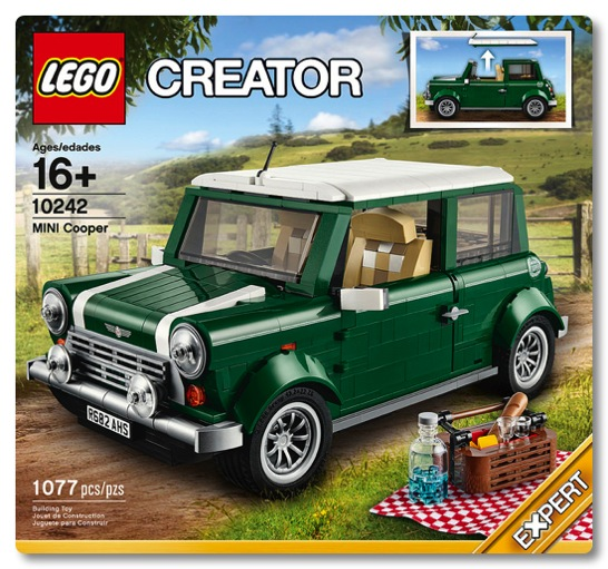 LEGO: 10242 Mini Cooper Mk VII が発売される!これは絶対に買いです!