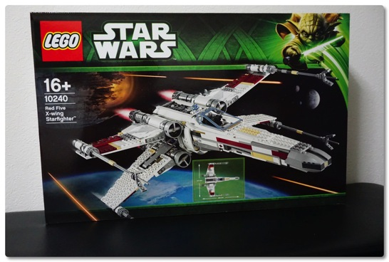 LEGO: 10240 Red Five X-Wing Starfighter を組みました [その1]