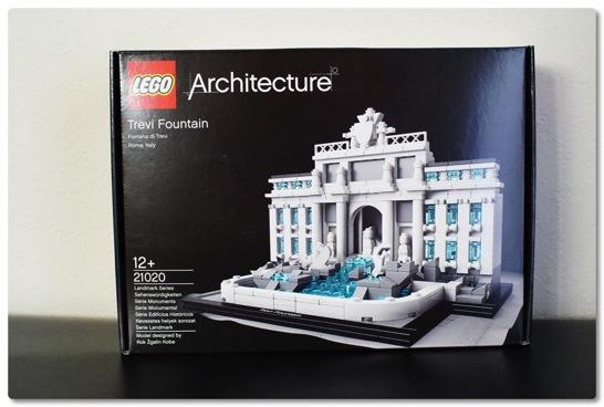 LEGO: 21020 トレビの泉 とても工夫が凝らされた面白いセットでした