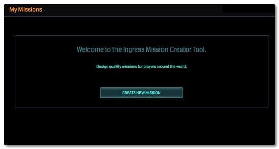 イングレスのミッション作成機能がオープンβに、Level 9以上のエージェントに公開されました
