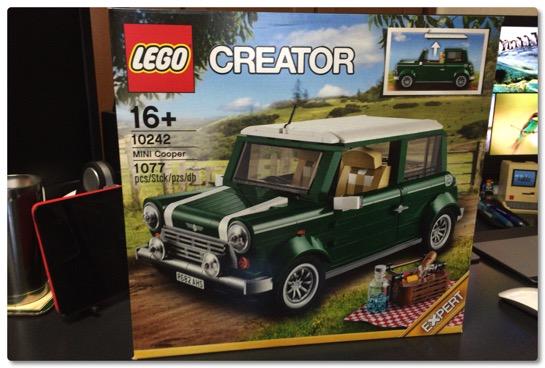 LEGO: 10242 ミニクーパー 今さらながら、だいぶ値下がりしてきたので 購入しました