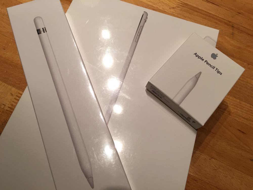 iPad Pro 9.7インチを入手しました