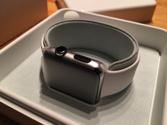 そういえば Apple Watch Series 2 も届いていたのでした