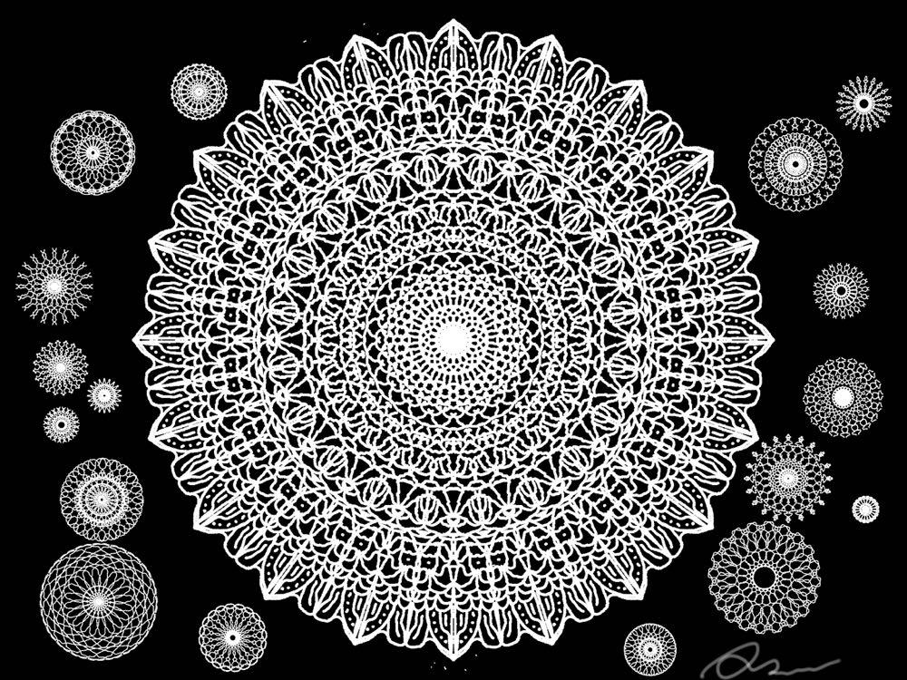 とても簡単にパターン画が掛ける Amaziograph が楽しくて仕方ない