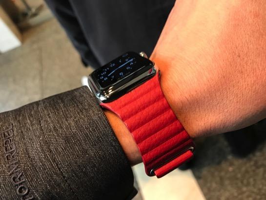 Apple Watchはバンド交換が簡単なので色々着せ替えて楽しみましょう