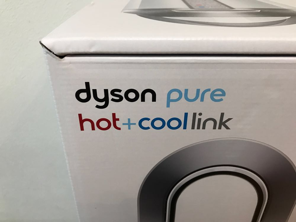 Dyson Pure Hot+Cool Linkがやってきた