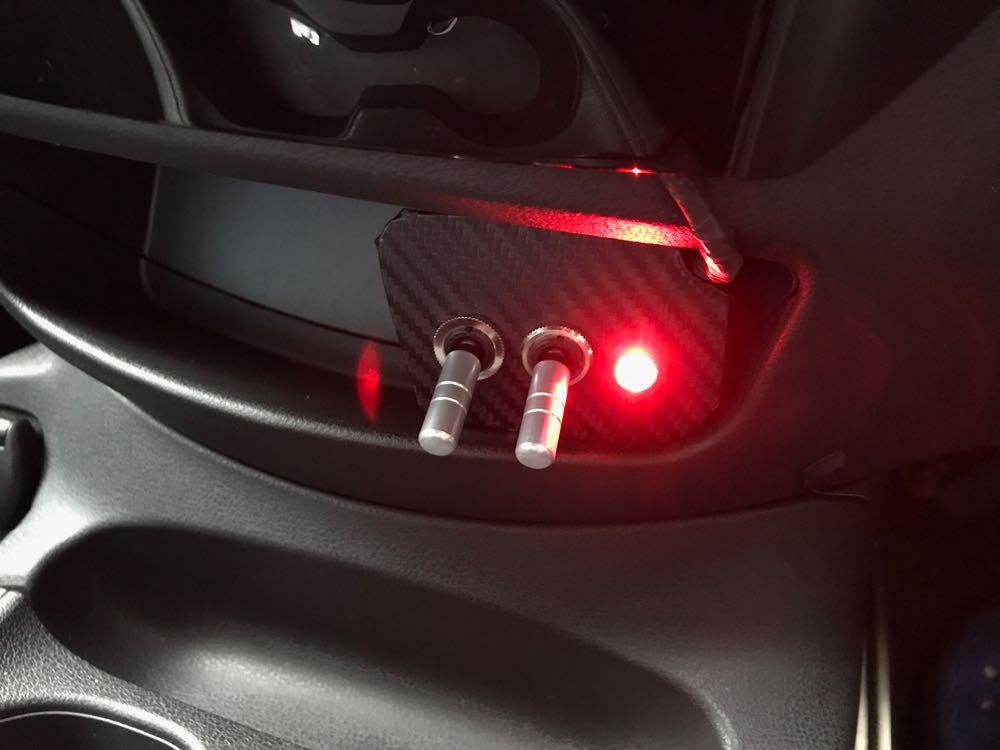 ノート e-POWER のワンペダルドライブ用ブレーキランプを LED で増設しました